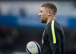 Nick Isiekwe of Saracens during the pre match warm up<br /> <br /> Photographer Simon King/Replay Images<br /> <br /> European Rugby Champions Cup Round 5 - Ospreys v Saracens - Saturday 11th January 2020 - Liberty Stadium - Swansea<br /> <br /> World Copyright © Replay Images . All rights reserved. info@replayimages.co.uk - http://replayimages.co.uk