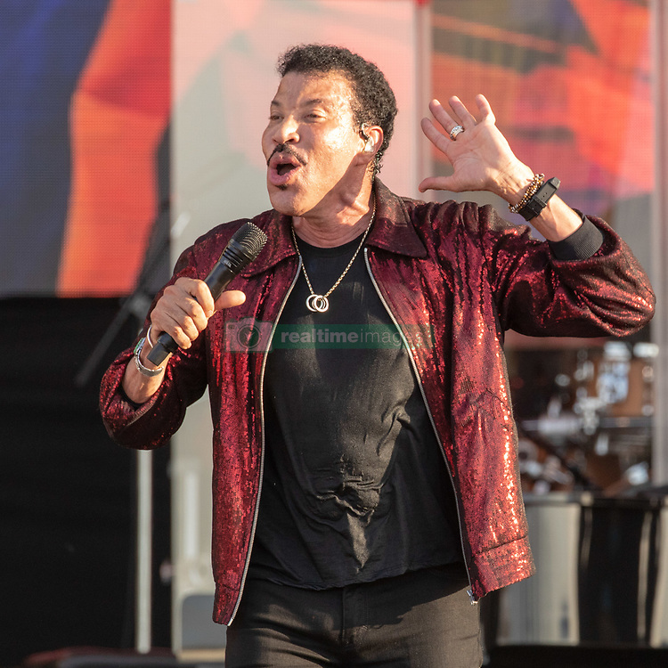 May 3, 2018 - New Orleans, Louisiana, U.S - LIONEL RICHIE during 2018 New Orleans Jazz and Heritage Festival at Race Course Fair Grounds in New Orleans, Louisiana (Credit Image: © Daniel DeSlover via ZUMA Wire)