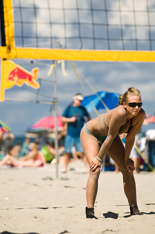 A Participant competes  at Red Bull Spiked in Deerfield Beach, Florida USA on September 09 2011.