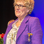 NLD/Amsterdamt/20180930 - Annie MG Schmidt viert eerste jubileum, Simone Kleinsma is geridderd als officier in de Orde van Oranje-Nassau