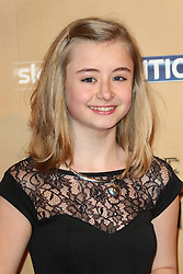 © Licensed to London News Pictures. 18/03/2015, UK. Ian Kerry Ingram (Shireen Baratheon), Game of Thrones - Series Five World Premiere, Tower of London, London UK, 18 March 2015. Photo credit : Richard Goldschmidt/Piqtured/LNP