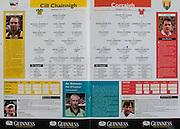 All Ireland Senior Hurling Championship - Final,.14092003AISHCF,.14.09.2003, 09.14.2003, 9th September 2003,.Senior Kilkenny 1-14, Cork 1-11,.Minor Kilkenny 2-16, Galway 2-15,..Kilkenny, 1 James McGarry, Bennettsbridge, 2 Michael Kavanagh, St Lachtains, 3 Noel Hickey, Dunnamaggin, 4 James Ryall, Graig Ballycallan, 5 Sean Dowling, O'Loughlin Gaels, 6 Peter Barry, James Stephens, 7 JJ Delaney, Fenians, 8 Derek Lyng, Emeralds, 9 Paddy Mullally, Glenmore, 10 John Hoyne, Graig Ballycallan, 11 Henry Shefflin, Ballyhale Shamrocks, 12 Duine Eine, 13 DJ Carey, Young Irelands, 14 Martin Comerford, O'Loughlins, 15 Eddie Brennan, Graig Ballycallan, ..Cork, 1 Donal Og Cusack, Cloyne, 2 Wayne Sherlock, Blackrock, 3 Pat Mulcahy, Newtownshandrum, 4 Diarmuid O'Sullivan, Cloyne, 5 Tom Kenny, Grenagh, 6 Ronan Curran, St Finbarr's, 7 Sean Og O hAilpin, Na Piarsaigh, 8 John Gardiner, Na Piarsaigh, 9 Michael O'Connell, Midleton, 10 Ben O'Connor, Newtownshandrum, 11 Niall McCarthy, Carrigtwohill, 12 Timmy McCarthy, Castlelyons, 13 Setanta O hAilpin, Na Piarsaigh, 14 Joe Deane, Killragh, 15 Alan Browne, Blackrock,