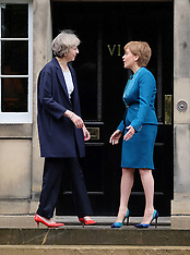 First Minister welcomes Prime Minister | Edinburgh | 15 July 2016