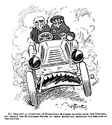 No, this isn't a collection ofTtubercular microbes escaping from the Congress; But merely the Montgomery-Smiths in their motor-car, enjoying the beauties of the country.