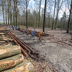 23-03-2019: Wielrennen: Drentse Dorpenomloop: Assen<br />-wielrennen - Assen - Drenthe - KNWU<br />Dion Beukeboom op de laatste keienstrook