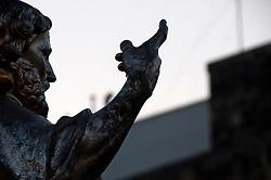 Lecce - Festeggiamenti in onore di Sant'Oronzo, San Giusto e San Fortunato. Particolare della Statua di San Giusto.