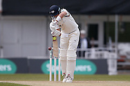 Yorkshire Batsman Joe Root  plays and misses during the Specsavers County Champ Div 1 match between Yorkshire County Cricket Club and Surrey County Cricket Club at Headingley Stadium, Headingley, United Kingdom on 10 May 2016. Photo by Simon Davies.