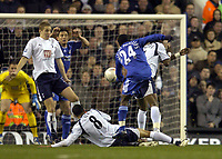 Photo: Olly Greenwood.<br />Tottenham Hotspur v Chelsea. The FA Cup, Quarter Final replay. 19/03/2007. Chelsea's Shaun Wright-Phillips sees his shot go just over