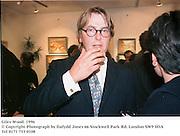 Giles Wood. 1996<br />© Copyright Photograph by Dafydd Jones<br />66 Stockwell Park Rd. London SW9 0DA<br />Tel 0171 733 0108