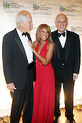 l to r: Ted Turner, Toni Braxton, Charles Grodin at Children's Cancer & Blood Foundation Breakthrough Ball held at The Plaza Hotel on October 20, 2009..