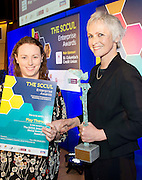 27/01/2014SCCUL Enterprise Award<br /> Social Enterprise <br /> Winner<br /> Play Therapy<br /> <br /> The winner of the social enterprise award is an enterprise which works with children and adults with emotional and behavioural difficulties.  <br /> It engages in a widely recognised, research based intervention for children and adolescents.<br /> This organisation offers and facilitates therapeutic groups to help build self esteem and social skills and sibling groups to help build relationships with families <br /> The company offers parental support for parents who are having difficulties and offers support to pregnant women and mothers and fathers with very young babies. <br /> The Winner of the SCCUL Enterprise Award for Social Enterprise is Play Therapy- a Child Therapy and Parental Support Services. <br /> The business is run by Linsey McNelis, an accredited play therapist who holds a post- graduate diploma in practice based play therapy from Canterbury Christ Church University.<br /> Her prize is<br /> •specially commissioned piece of sculpture from locally based sculptor Liam Butler<br /> •€1000 cash<br /> •Full page Business profile worth €1250 in the Galway Independent SCCUL Enterprise Awards Souvenir Supplement which will be published. her prize was presented by Mary Redmond  Photo:Andrew Downes
