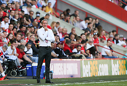 Charlton Athletic manager Lee Bowyer watches on - Mandatory by-line: Arron Gent/JMP - 14/09/2019 - FOOTBALL - The Valley - Charlton, London, England - Charlton Athletic v Birmingham City - Sky Bet Championship