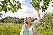 Nederland, Nijmegen, 4-9-2017Barones Kien van Hovell tot Westerflier op haar landgoed Grootstal.De komende open monumentendag heeft als thema boeren, birgers en buitenlui. Het thema benadrukt de relatie tussen stad en land en bijbehorende monumenten.Foto: Flip Franssen