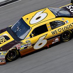April 16, 2011; Talladega, AL, USA; NASCAR Sprint Cup Series driver David Ragan (6) during qualifying for the Aarons 499 at Talladega Superspeedway.   Mandatory Credit: Derick E. Hingle