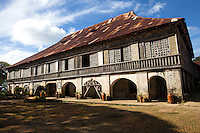 Built in 1884 by Augustinian Recollects, San Isidro Labrador Convent  was constructed of coral stone and hardwood. It has two pulpits but is best characterized by its hardwood flooring.  In 2001 the church and convent were declared a National Cultural Treasure of the Philippines.