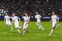 Joie Reims - 18.04.2015 - Bastia / Reims - 33eme journee de Ligue 1<br />Photo : Michel Maestracci / Icon Sport