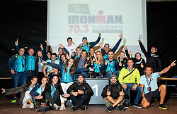 Organising team after the Ironman 70.3 Slovenian Istra 2019, on September 22, 2019 in Koper / Capodistria, Slovenia. Photo by Vid Ponikvar / Sportida