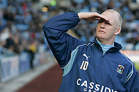 Photo: Pete Lorence.<br />Coventry City v Hull City. Coca Cola Championship. 03/03/2007.<br />Iain Dowie before the match.