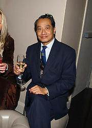 HRH The PRINCE SHWEBOMIN THE CROWN PRINCE OF BURMA at a party to celebrate the opening of Kitts nightclub, 7-12 Sloane Square, London on 7th December 2006.<br />