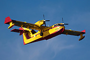 Greek Air force Canadair CL-415GR fire fighting plane photographed in Israel December 2010