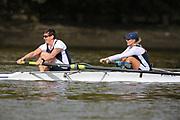 Crew: 99 - Pattison / Duggan - Putney Town Rowing Club - W MasB/C 2- <br /> <br /> Pairs Head 2020