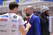 Buscaglia Maurizio<br /> Happy Casa Brindisi - Grissin Bon Reggio Emilia<br /> Legabasket SerieA  2019-2020<br /> Brindisi 26/12/19<br /> Foto: Ciamillo-Castoria / Michele Longo