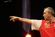 "Darts: Betfair Team World Cup 2013, Hamburg, 03.02.2013<br /> Phil ""The Power"" Taylor (ENG)<br /> © Torsten Helmke"