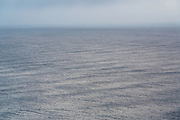 The atlantic ocean. View from top of Dyrhólaey Peninsula. South Iceland.
