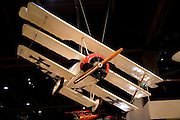 Wisconsin, USA, Oshkosh, Air Venture Experimental Aviation Association (EAA) Museum, Fokker Dr. 1 triplane (German WWI aircraft)., November 2006
