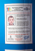 Home Office Anti-Social Behaviour Order notice ASBO, Bridlington, Yorkshire, England