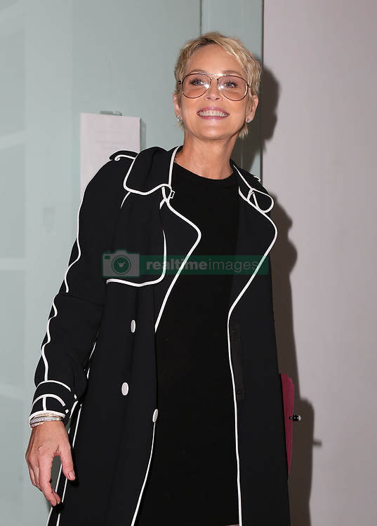 Sharon Stone, Melanie Griffith, at discussion to raise awareness for Women's Brain Health at Gagosian Gallery in Los Angeles, California October 18, 2017. 18 Oct 2017 Pictured: Sharon Stone. Photo credit: FS/MPI/Capital Pictures / MEGA TheMegaAgency.com +1 888 505 6342