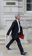 licensed to London News Pictures. 17/05/2011. London, UK. Secretary of State for Energy and Climate Change Chris Huhne leaving the cabinet office to go to the Office for Energy and Climate Change today (17/05/2011). Please see special instructions for usage rates. Photo credit should read Stephen Simpson/LNP