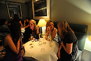 CLEMMIE CHANT-SEMPILL; ALICE DAWSON; JESSICA HOWLAND; HAT SCOTT. Brompton Bar And Grill - launch party - celeb update<br /> Brompton Bar And Grill, 243 Brompton Road, London, SW3 11 March 2009 *** Local Caption *** -DO NOT ARCHIVE-© Copyright Photograph by Dafydd Jones. 248 Clapham Rd. London SW9 0PZ. Tel 0207 820 0771. www.dafjones.com.<br /> CLEMMIE CHANT-SEMPILL; ALICE DAWSON; JESSICA HOWLAND; HAT SCOTT. Brompton Bar And Grill - launch party - celeb update<br /> Brompton Bar And Grill, 243 Brompton Road, London, SW3 11 March 2009