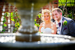 Knebworth Barns Summer Wedding