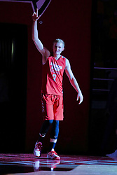 NORMAL, IL - October 12: Isaac Gassman during Illinois State Athletics Hoopfest on October 12 2018 at Redbird Arena in Normal, IL. (Photo by Alan Look)
