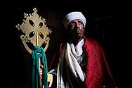 Portrait of orthodox Lalibela priest