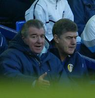 Barclaycard Premiership<br />Everton v Leeds United (01/02/03)<br />Terry Venables looks on at his depleted team<br /><br />Photo: Aidan Ellis.