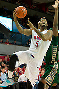 DALLAS, TX - JANUARY 15: Markus Kennedy #5 of the SMU Mustangs drives to the basket against the South Florida Bulls on January 15, 2014 at Moody Coliseum in Dallas, Texas.  (Photo by Cooper Neill/Getty Images) *** Local Caption *** Markus Kennedy