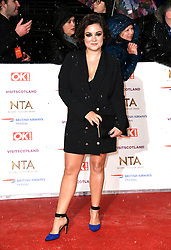 Fiona O'Carroll  attending the National Television Awards 2019 held at the O2 Arena, London. Photo credit should read: Doug Peters/EMPICS