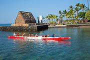 Ahuena Heiau, Kailua-Kona, Island of Hawaii