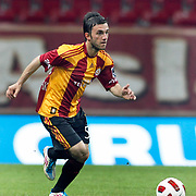 Galatasaray's Emre COLAK during their Turkish Super League soccer match Galatasaray between Konyaspor at the T T Arena at Seyrantepe in Istanbul Turkey on Sunday, 20 May 2011. Photo by TURKPIX
