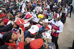 November 2, 2019, Austin, United States of America: Motorsports: FIA Formula One World Championship 2019, Grand Prix of United States, .#99 Antonio Giovinazzi (ITA, Alfa Romeo Racing) (Credit Image: © Hoch Zwei via ZUMA Wire)