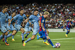 August 10, 2016 - Barcelona, Catalonia, Spain - FC Barcelona forward MESSI in action against the UC Sampdoria in the Joan Gamper Trophy between FC Barcelona and UC Sampdoria at the Camp Nou stadium in Barcelona (Credit Image: © Matthias Oesterle via ZUMA Wire)
