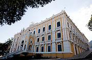 Vitoria_ES, Brasil.. .Vista geral do Palacio Anchieta em Vitoria, Espirito Santo...The Anchieta palace in Vitoria, Espirito Santo...Foto: BRUNO MAGALHAES / NITRO