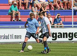 FODBOLD: Jacob Jensen (Helsingør) under kampen i Kvalifikationsrækken, pulje 1, mellem Elite 3000 Helsingør og Lyngby Boldklub den 10. juni 2006 på Helsingør Stadion. Foto: Claus Birch