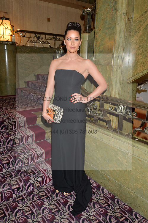 ROXIE NAFOUSI at the WGSN Global Fashion Awards 2015 held at The Park Lane Hotel, Piccadilly, London on 14th May 2015.