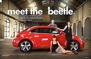 Volkswagen magazine, photo: Peter Collie