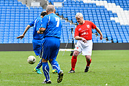 Stephen Beresford of England over 60's during the world's first Walking Football International match between England and Italy at the American Express Community Stadium, Brighton and Hove, England on 13 May 2018. Picture by Graham Hunt.