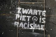 Nederland, Nijmegen, 16-11-2020  Protest van actiegroep Kick Out Zwarte Piet . Zwarte Piet Is Racisme  .Foto: ANP/ Hollandse Hoogte/ Flip Franssen