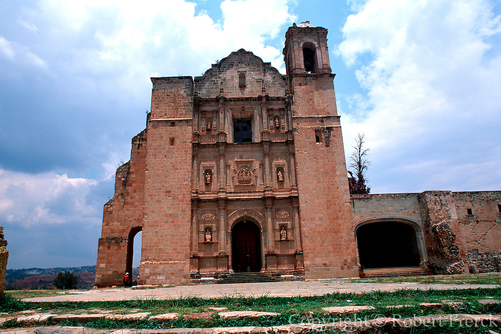 MEXICO, COLONIAL, OAXACA Yanhuitlan; Dominican Monastery 1540
